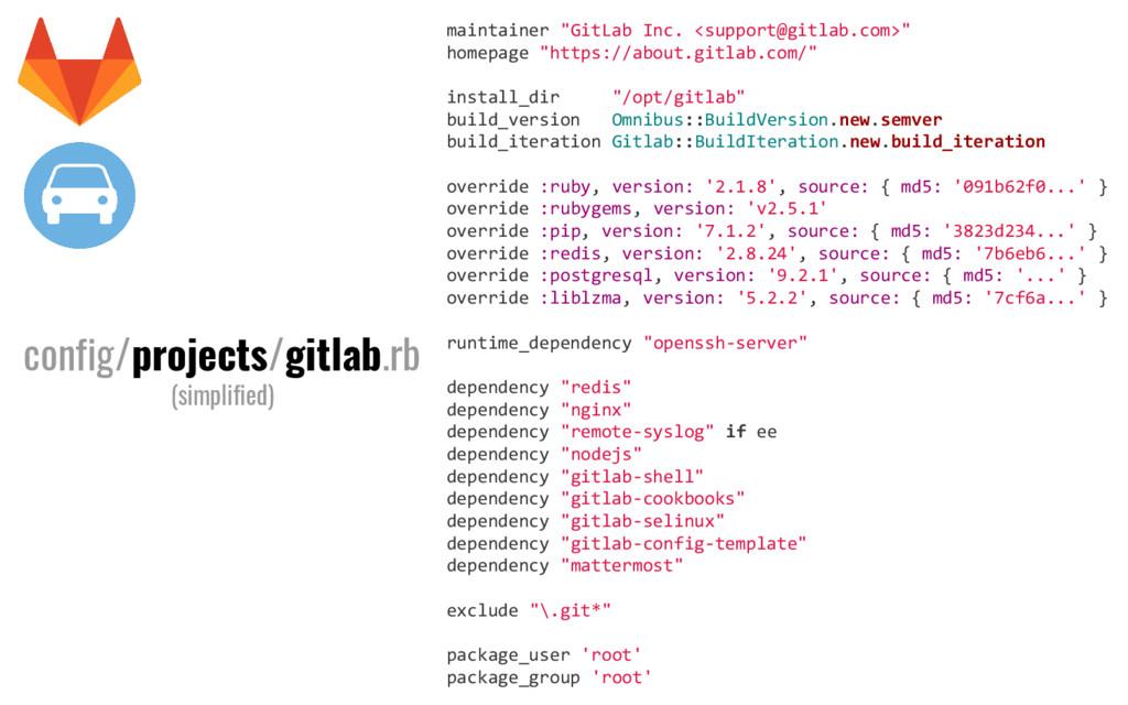 """maintainer """"GitLab Inc. <support@gitlab.com>"""" h..."""