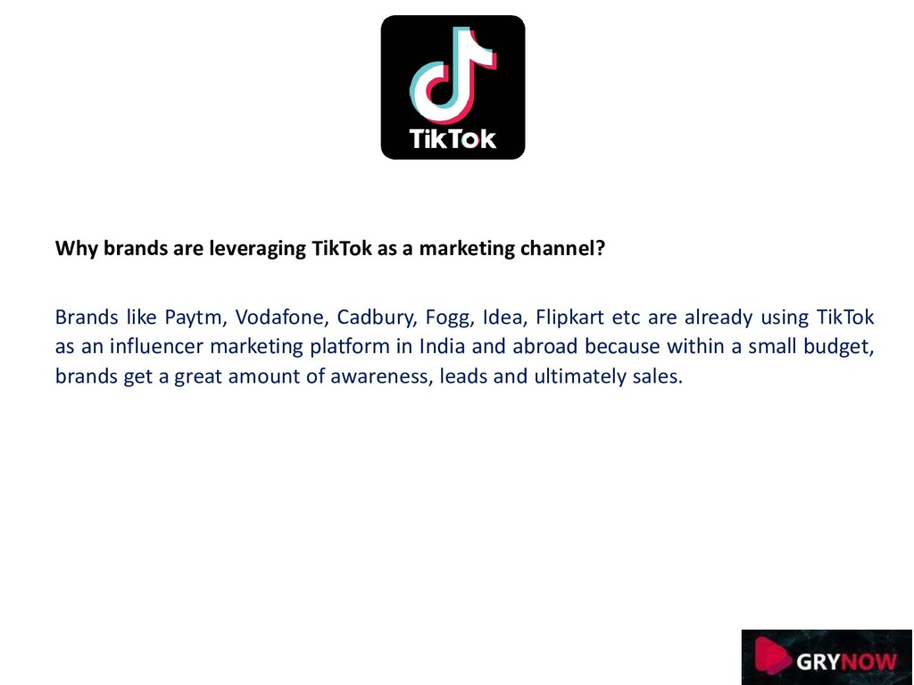 Why brands are leveraging TikTok as a marketing...