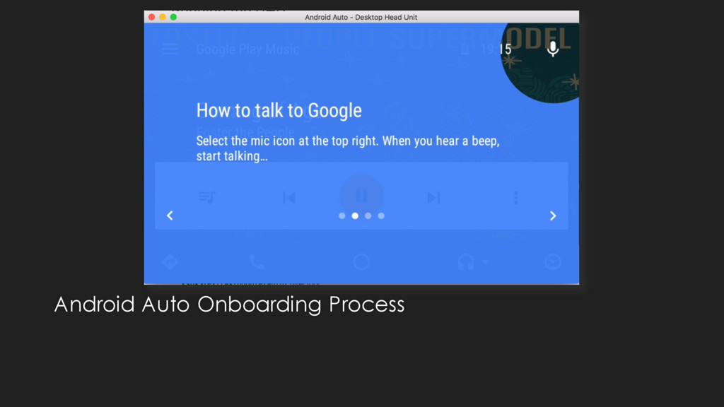 Android Auto Onboarding Process