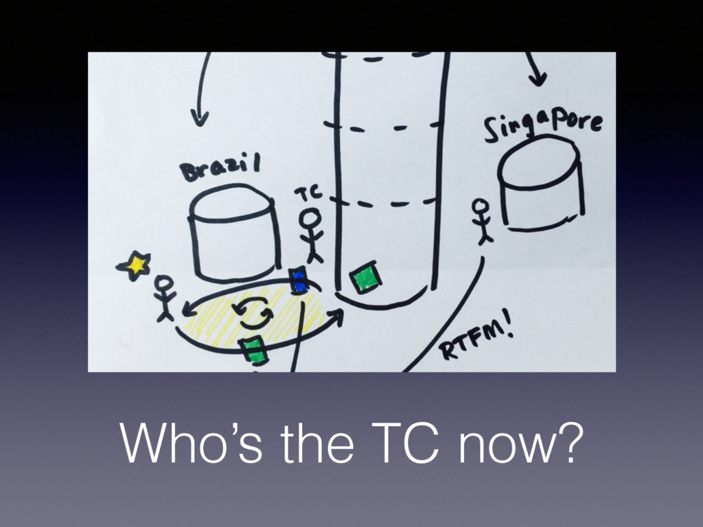 Who's the TC now?