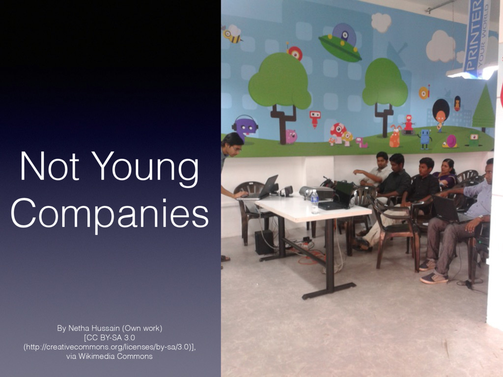 Not Young Companies By Netha Hussain (Own work)...