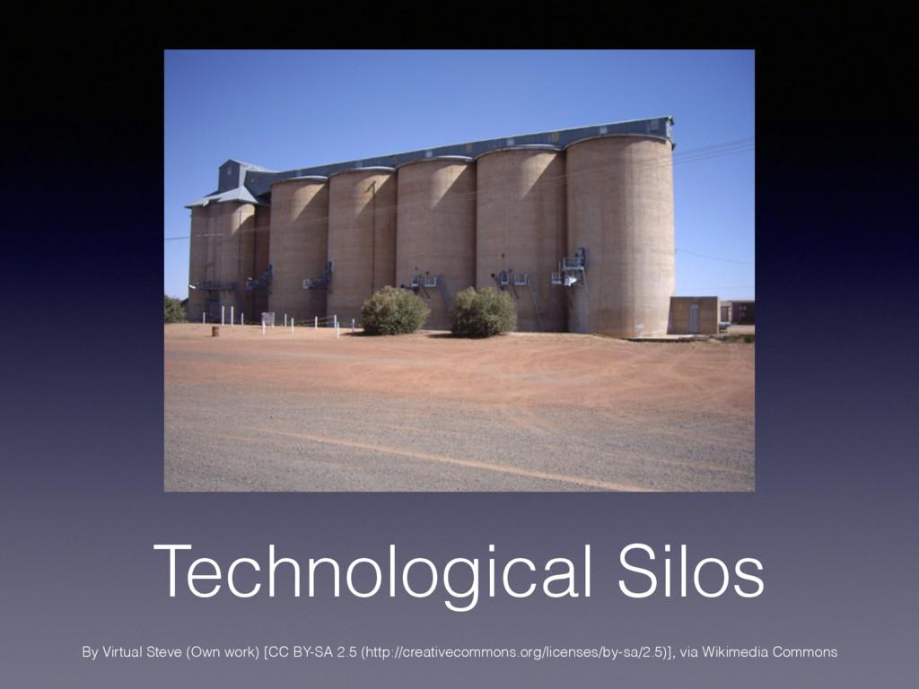 Technological Silos By Virtual Steve (Own work)...