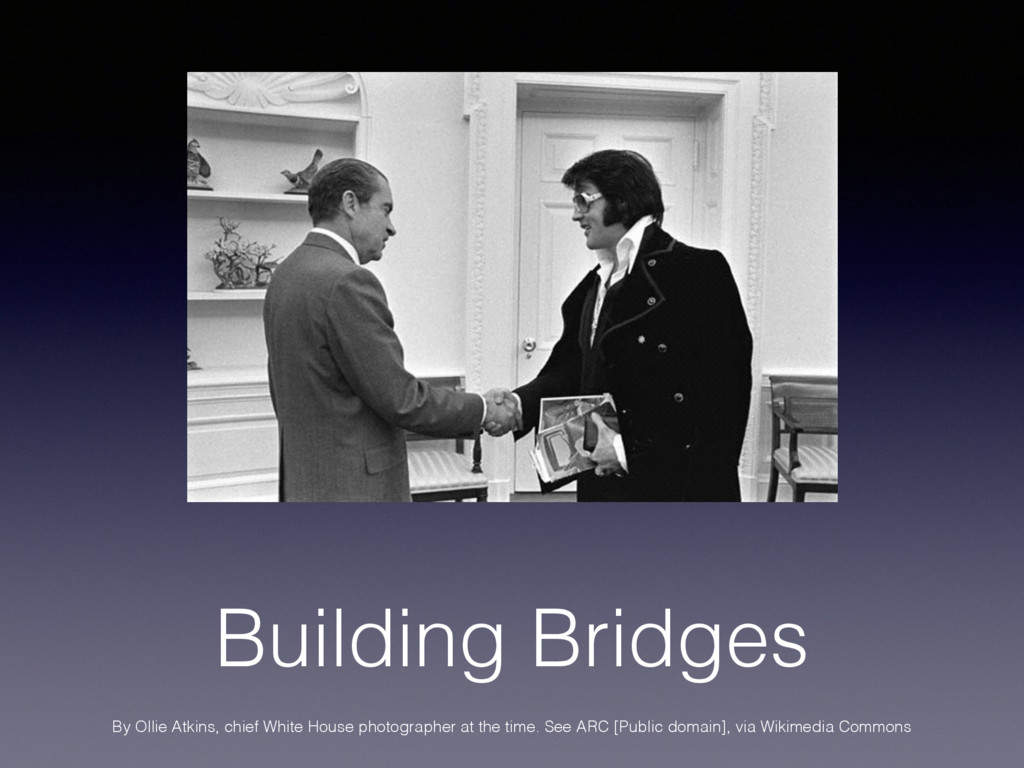 Building Bridges By Ollie Atkins, chief White H...