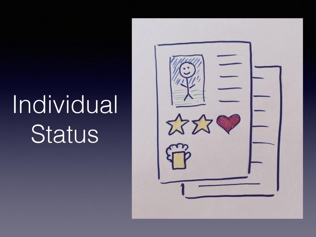 Individual Status