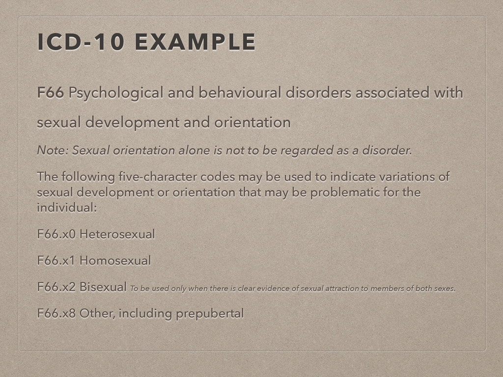 F66 Psychological and behavioural disorders ass...