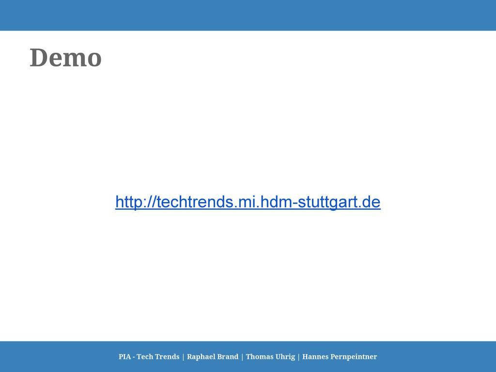 Demo PIA - Tech Trends   Raphael Brand   Thomas...