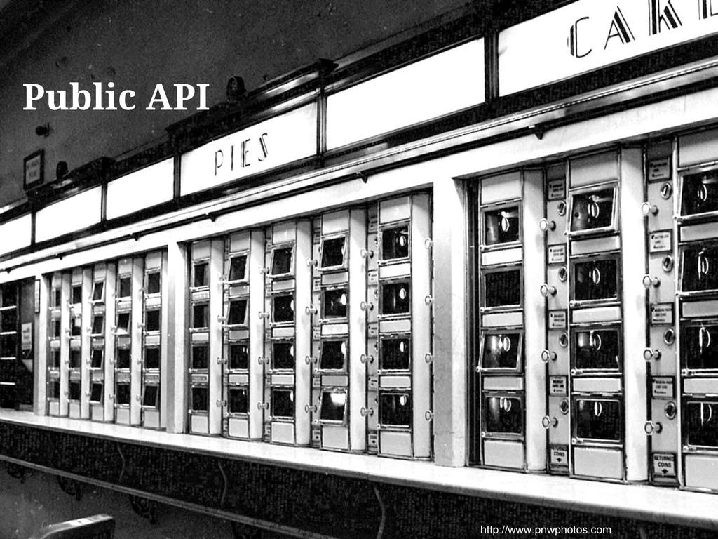 http://www.pnwphotos.com Public API