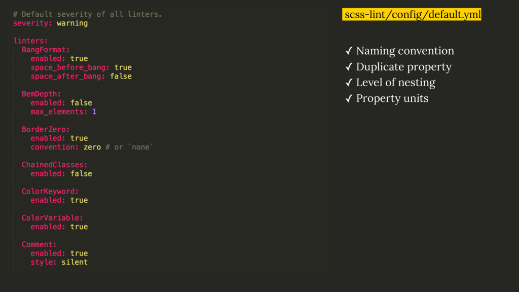 scss-lint/config/default.yml ✓ Naming conventio...