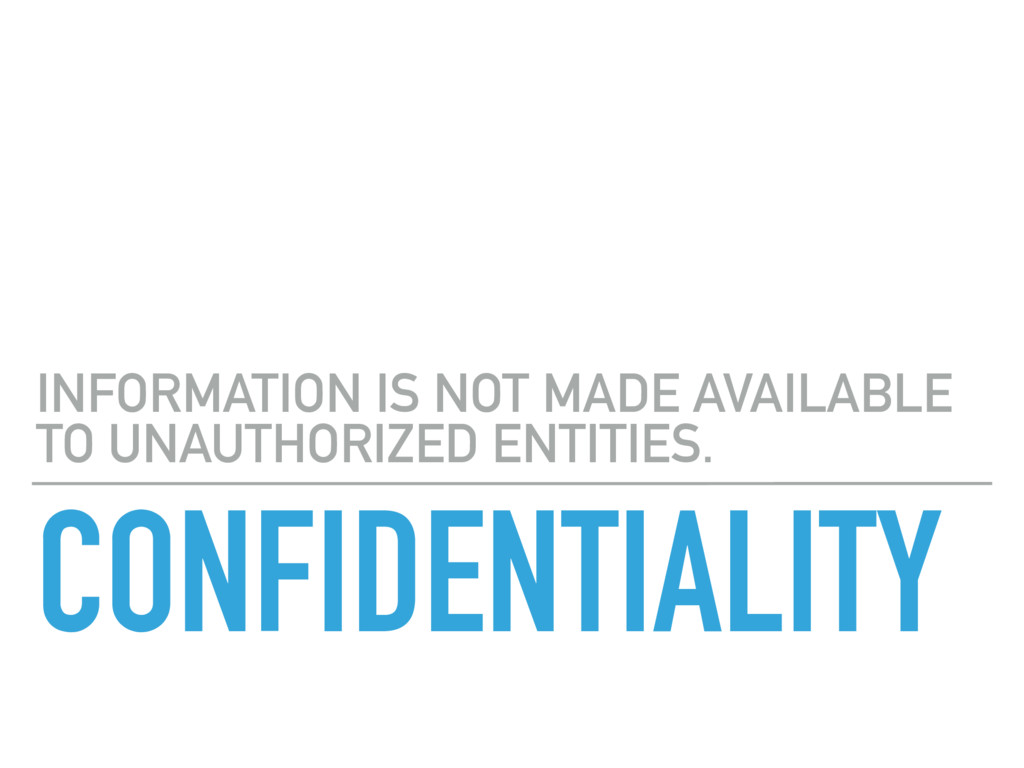 CONFIDENTIALITY INFORMATION IS NOT MADE AVAILAB...