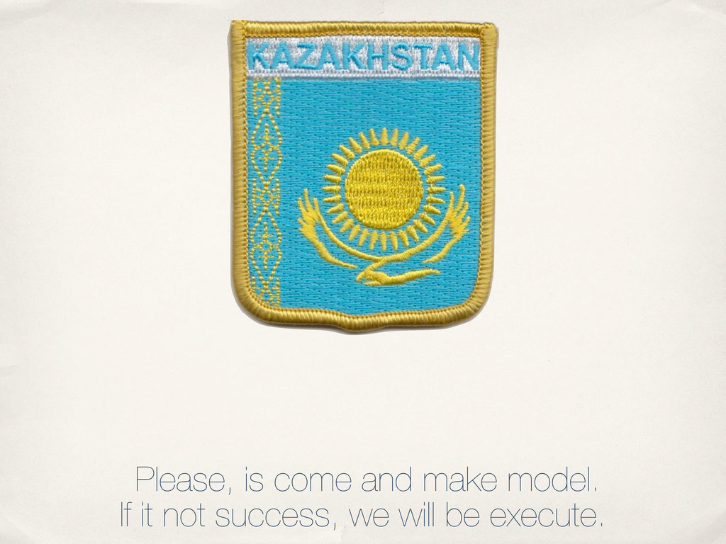 Please, is come and make model. If it not succe...