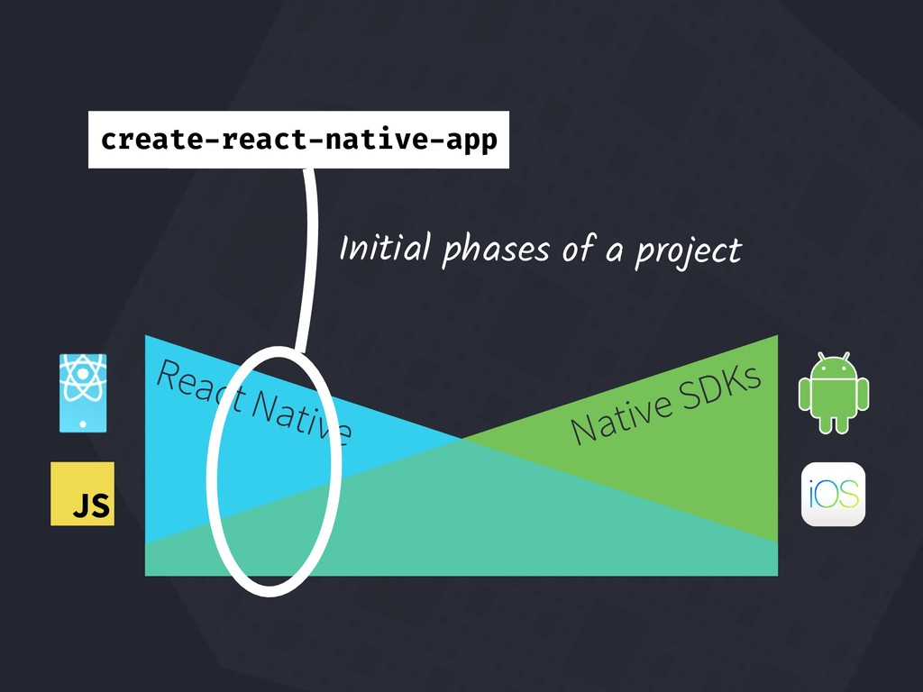 React Native Native SDKs JS Initial phases of a...