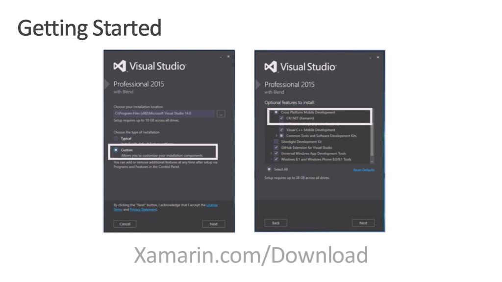 Xamarin.com/Download