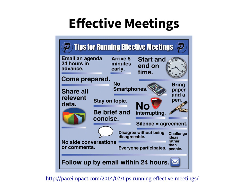 Effective Meetings http://paceimpact.com/2014/0...