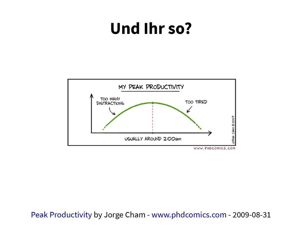 Und Ihr so? Peak Productivity by Jorge Cham - w...