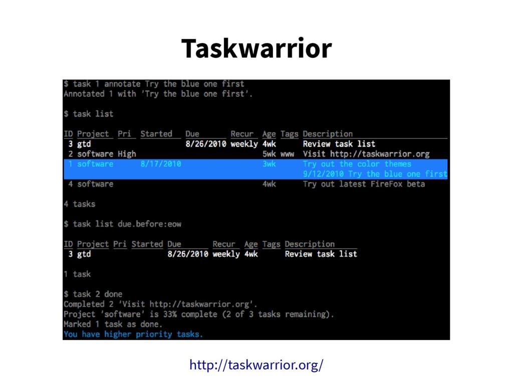 Taskwarrior http://taskwarrior.org/