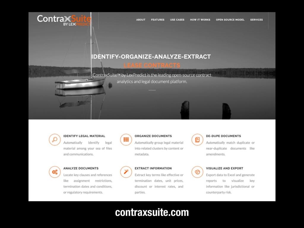 contraxsuite.com