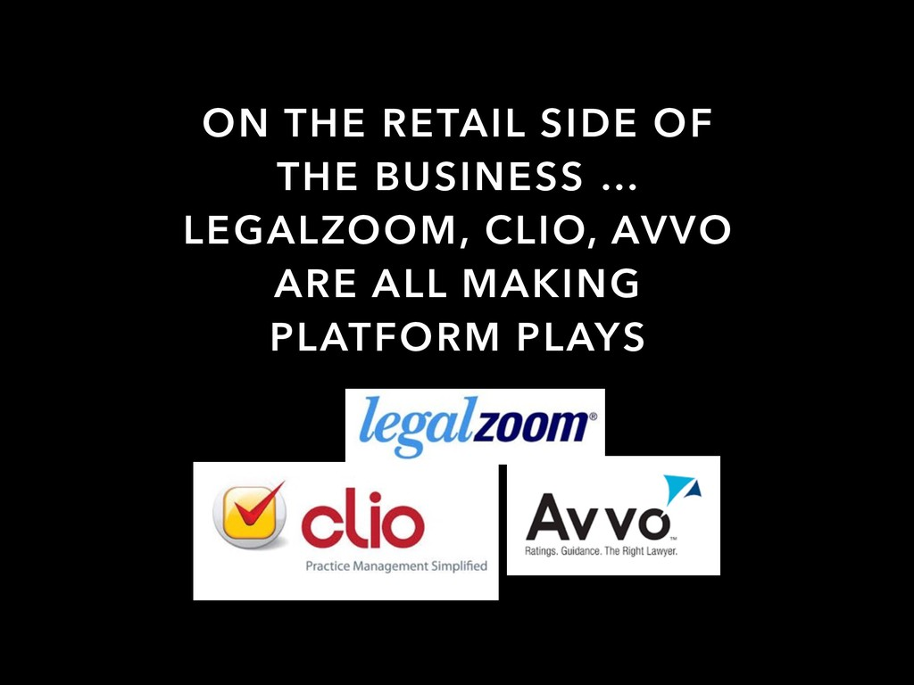 ON THE RETAIL SIDE OF THE BUSINESS … LEGALZOOM,...