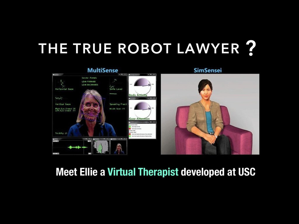 ? Meet Ellie a Virtual Therapist developed at U...