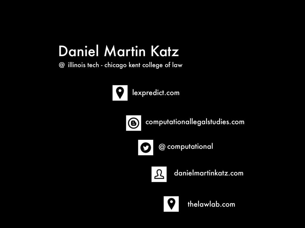 Daniel Martin Katz @ computational computationa...