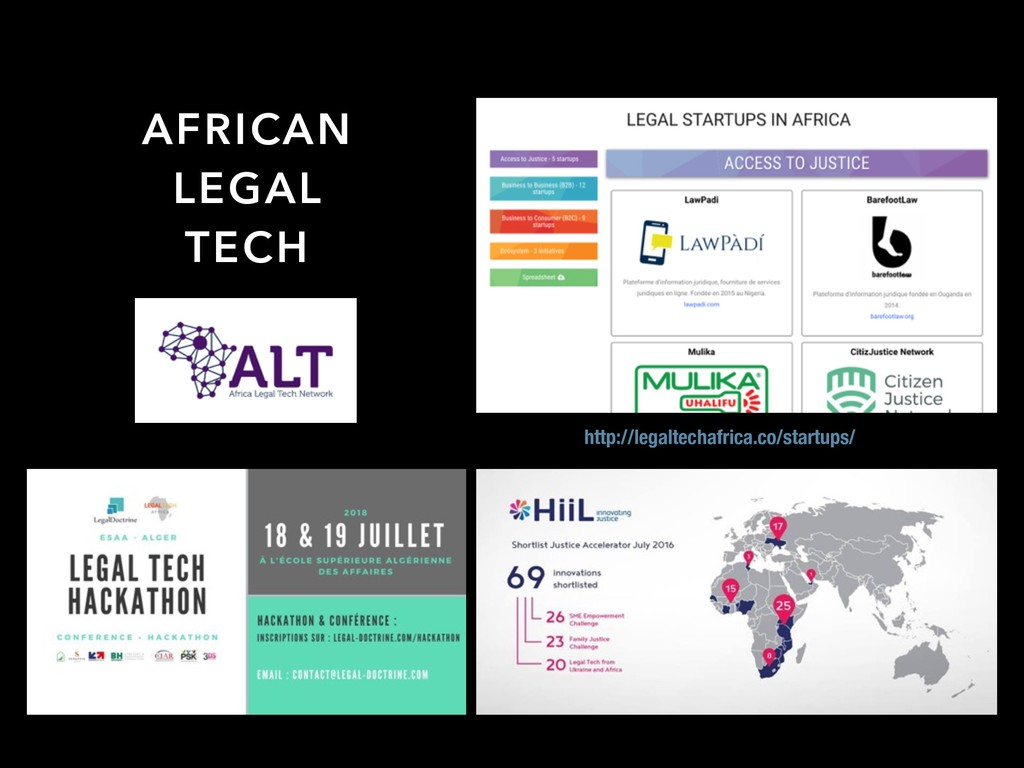 AFRICAN LEGAL TECH http://legaltechafrica.co/st...