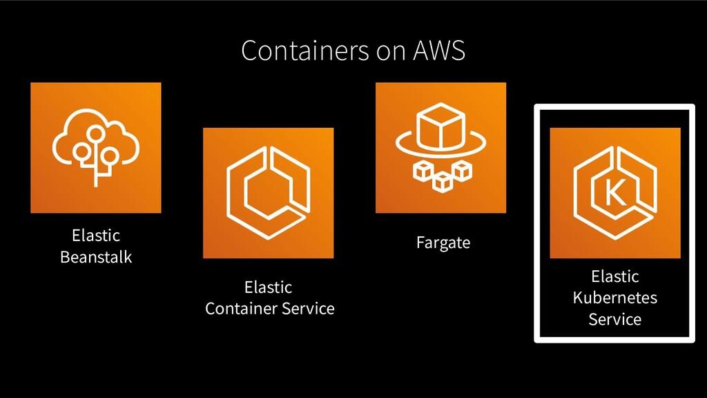 Containers on AWS Elastic Beanstalk Elastic Con...
