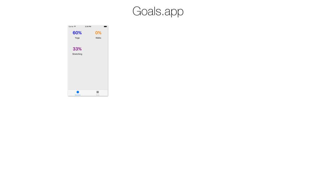 Goals.app