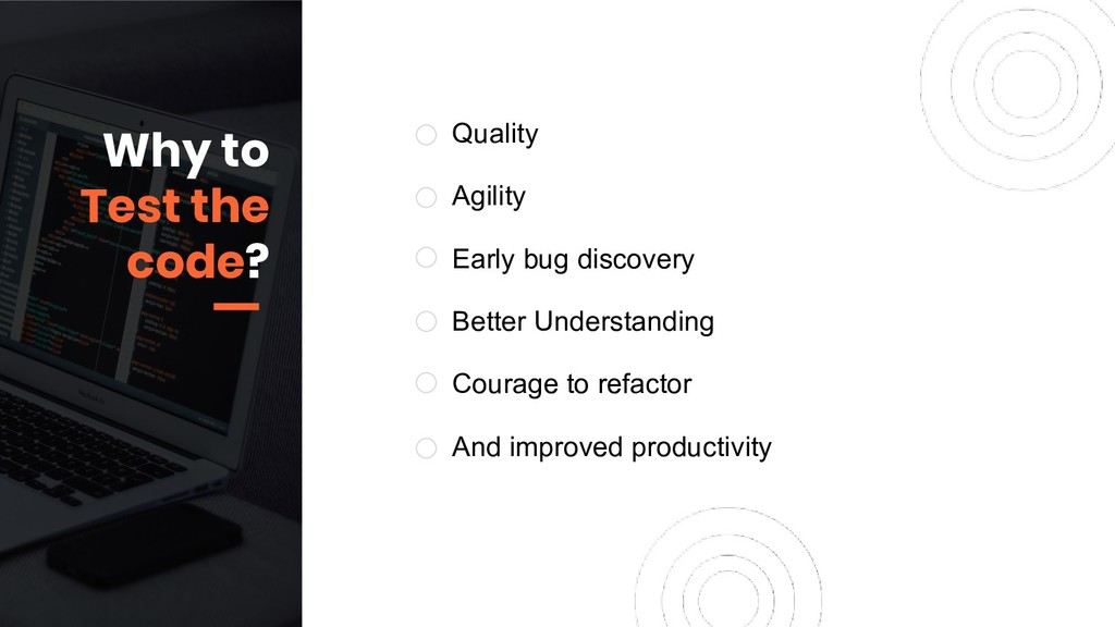Quality Agility Early bug discovery Better Unde...