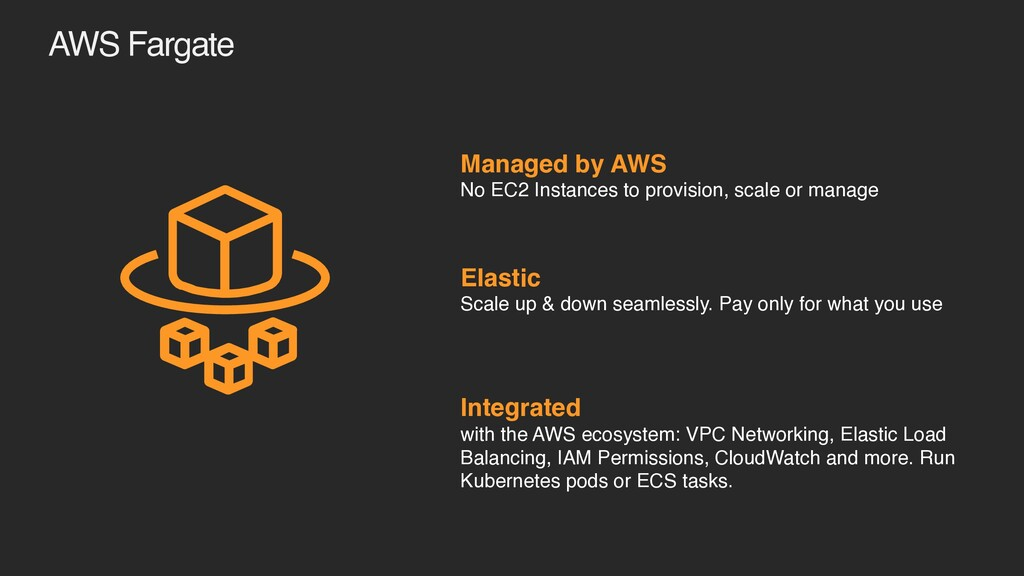 Managed by AWS No EC2 Instances to provision, s...