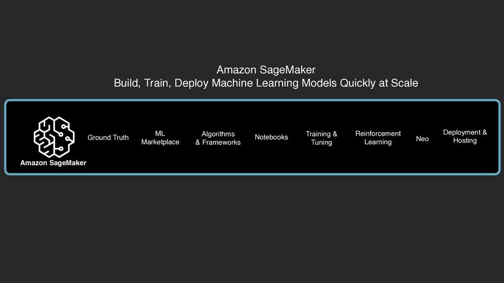 Amazon SageMaker Build, Train, Deploy Machine L...