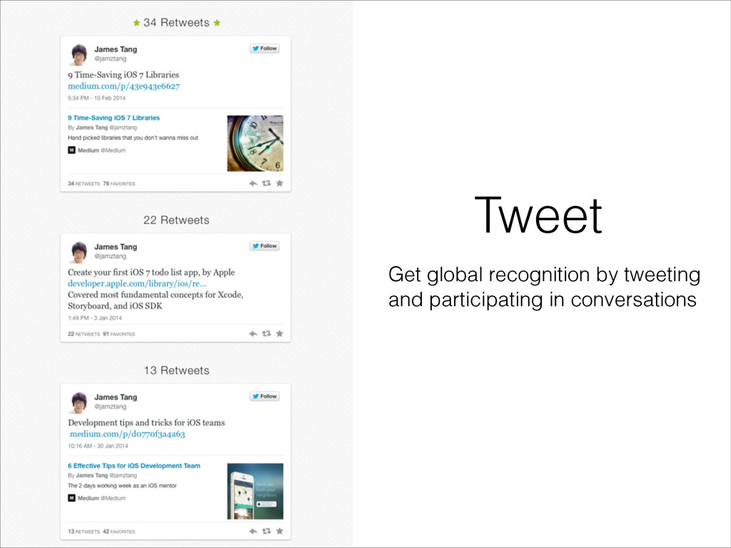 Tweet Get global recognition by tweeting and pa...