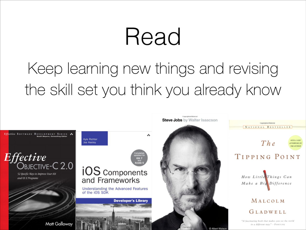 Read Keep learning new things and revising the ...