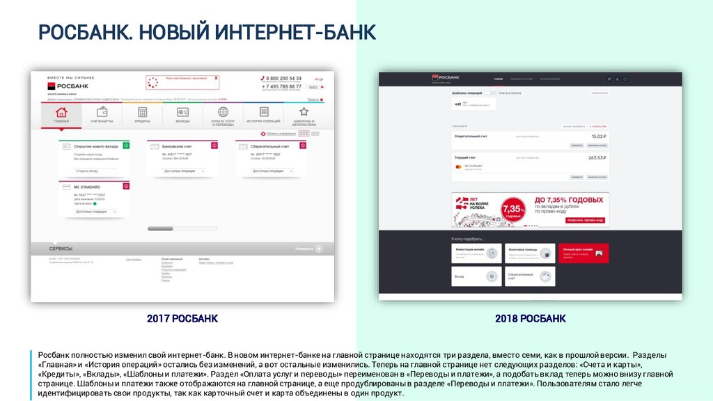 РОСБАНК. НОВЫЙ ИНТЕРНЕТ-БАНК 2017 РОСБАНК 2018 ...