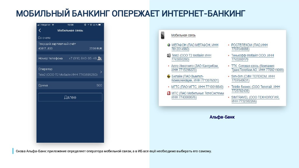 МОБИЛЬНЫЙ БАНКИНГ ОПЕРЕЖАЕТ ИНТЕРНЕТ-БАНКИНГ Ал...