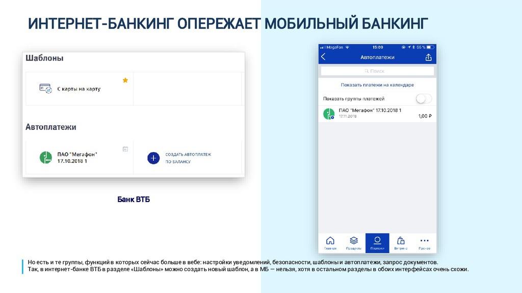 ИНТЕРНЕТ-БАНКИНГ ОПЕРЕЖАЕТ МОБИЛЬНЫЙ БАНКИНГ Ба...