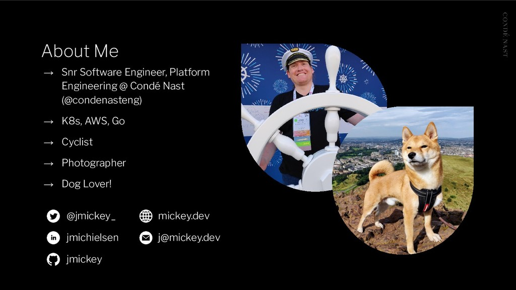 About Me → Snr Software Engineer, Platform Engi...