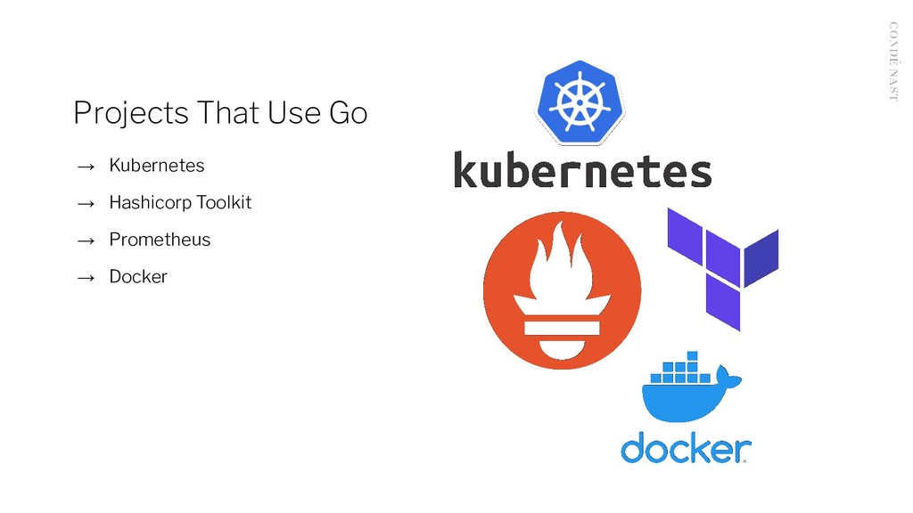 Projects That Use Go → Kubernetes → Hashicorp T...