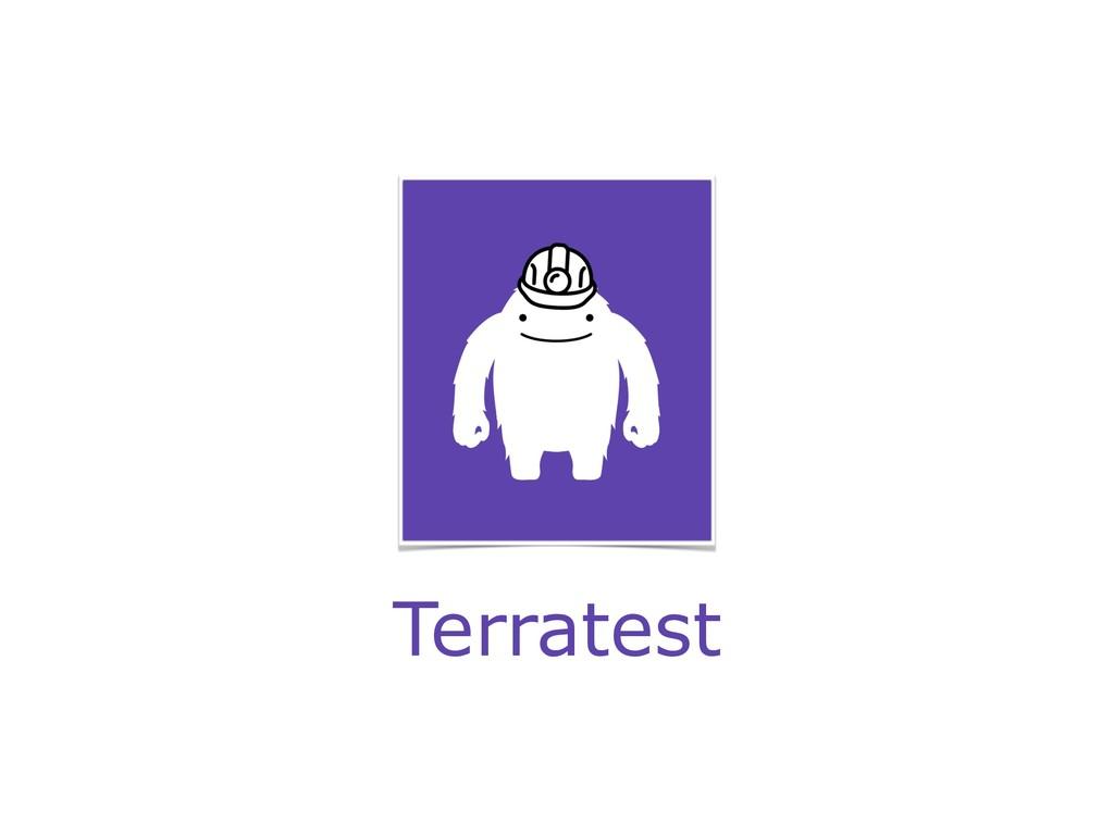 Terratest