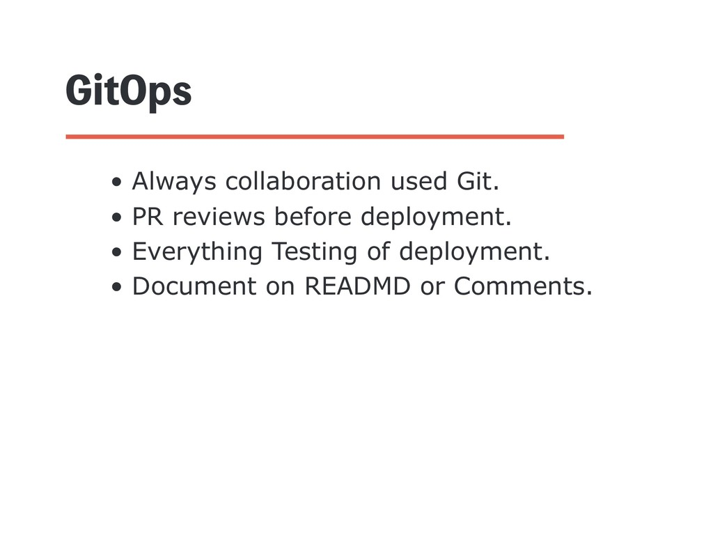 (JU0QT • Always collaboration used Git. • PR re...