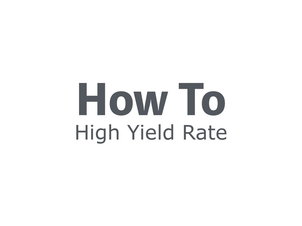 High Yield Rate )PX5P
