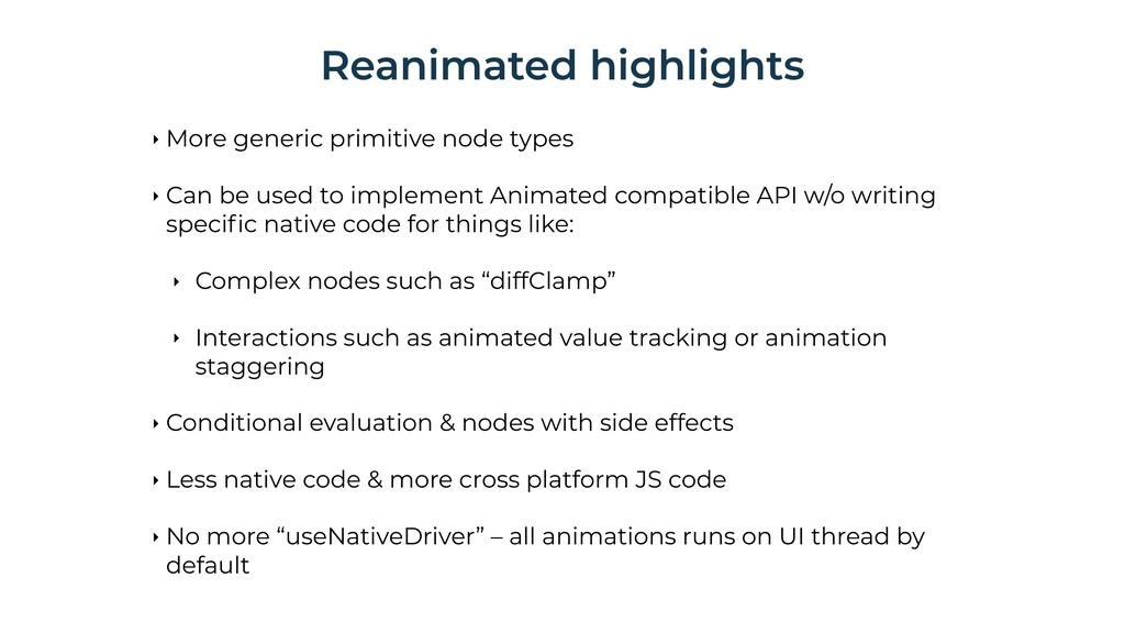 ‣ More generic primitive node types ‣ Can be us...