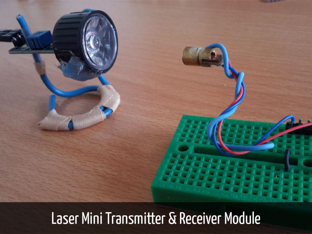 Laser Mini Transmitter & Receiver Module 17 / 74