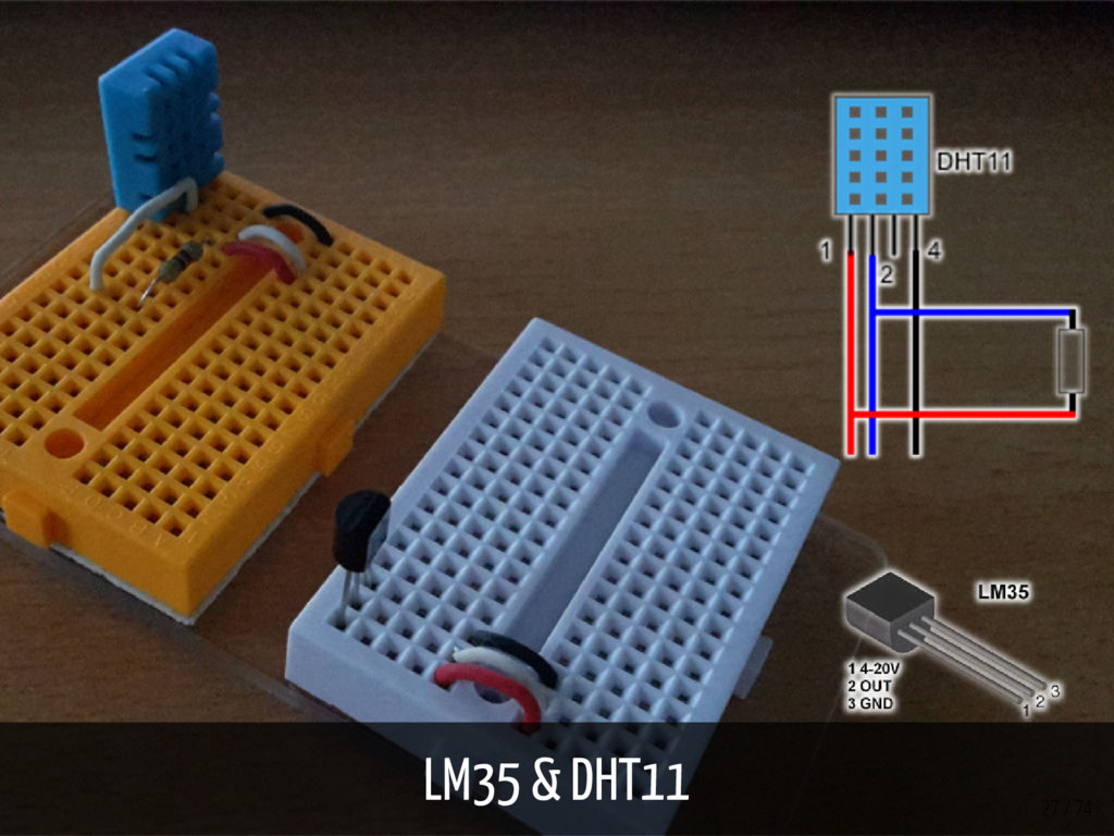 LM35 & DHT11 27 / 74