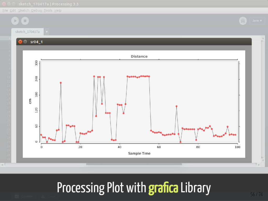 Processing Plot with gra ca Library 56 / 74