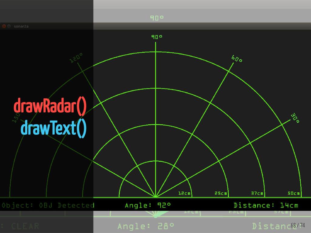 68 / 74 drawRadar() drawText()
