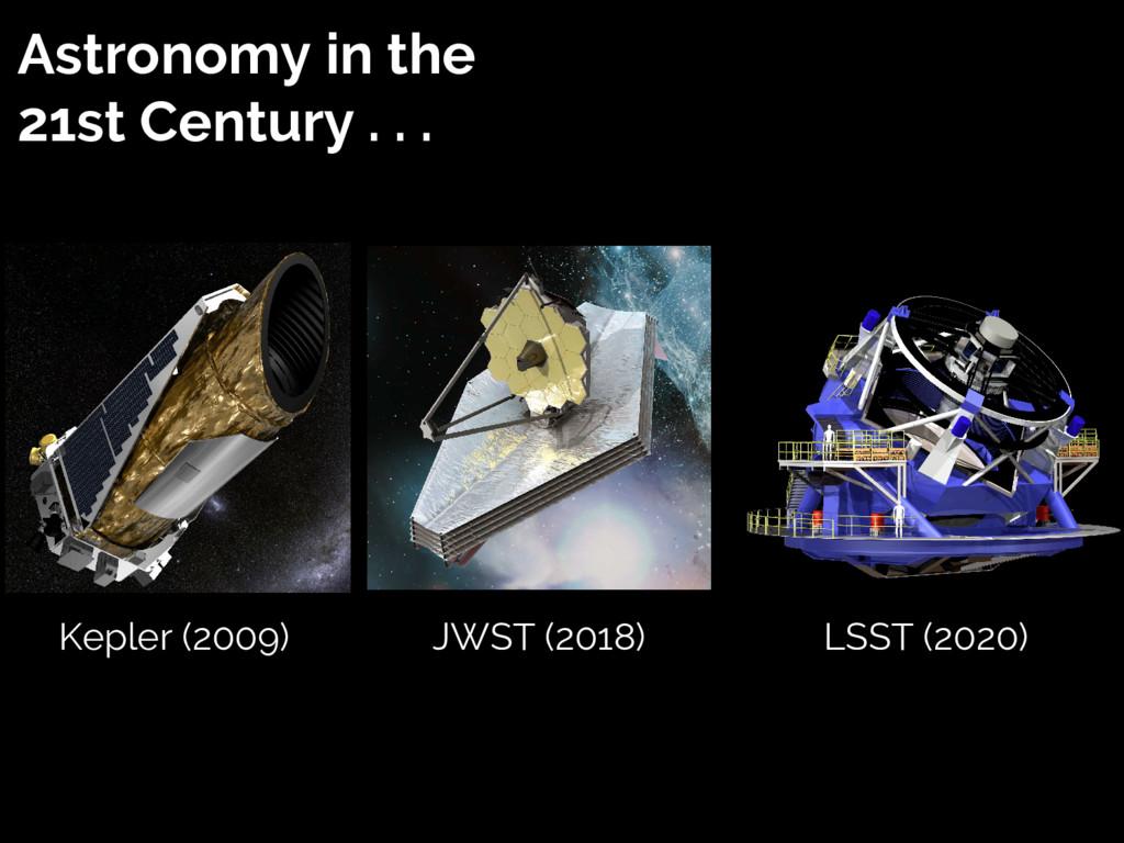 Astronomy in the 21st Century . . . Kepler (200...