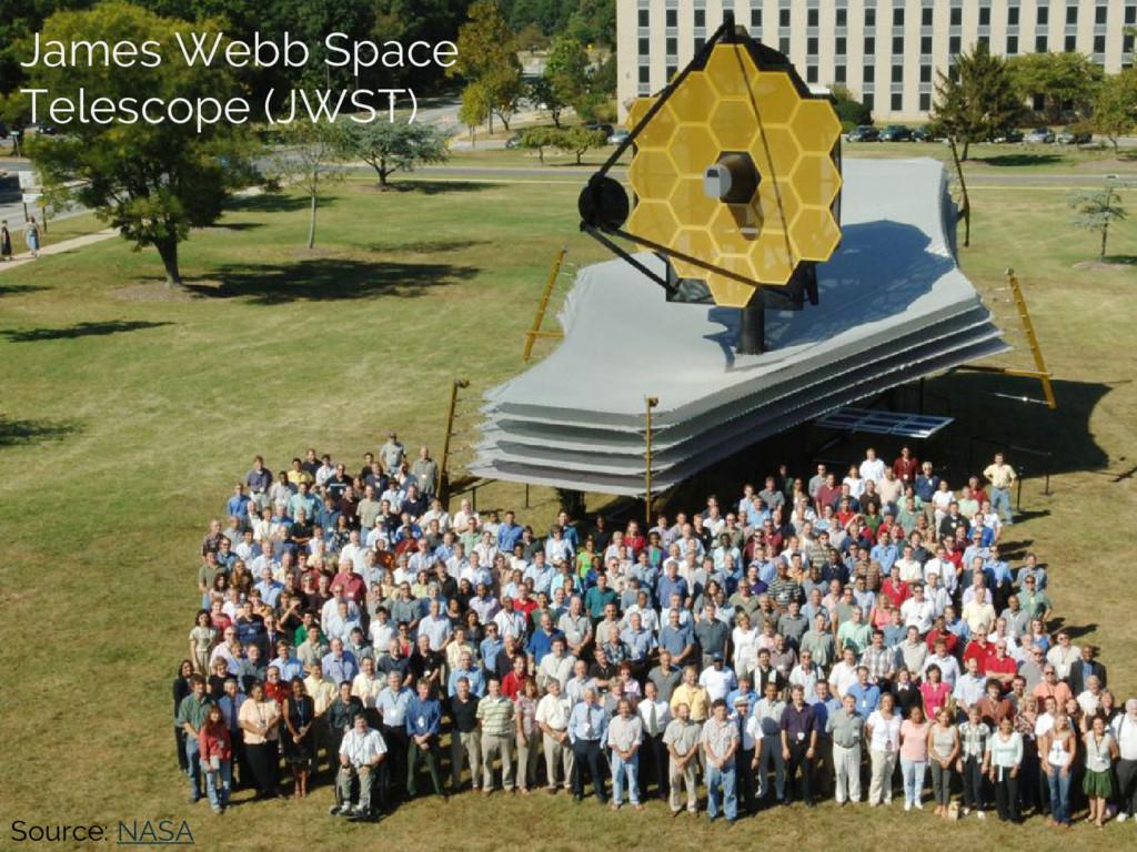 Source: NASA James Webb Space Telescope (JWST)