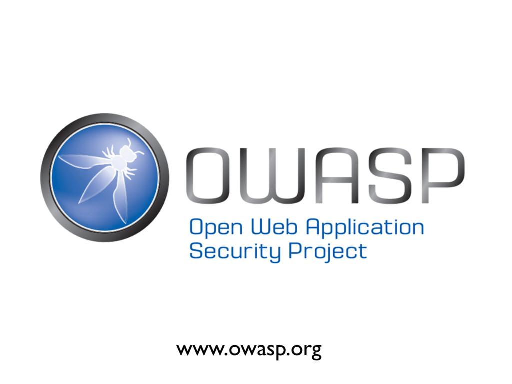 www.owasp.org