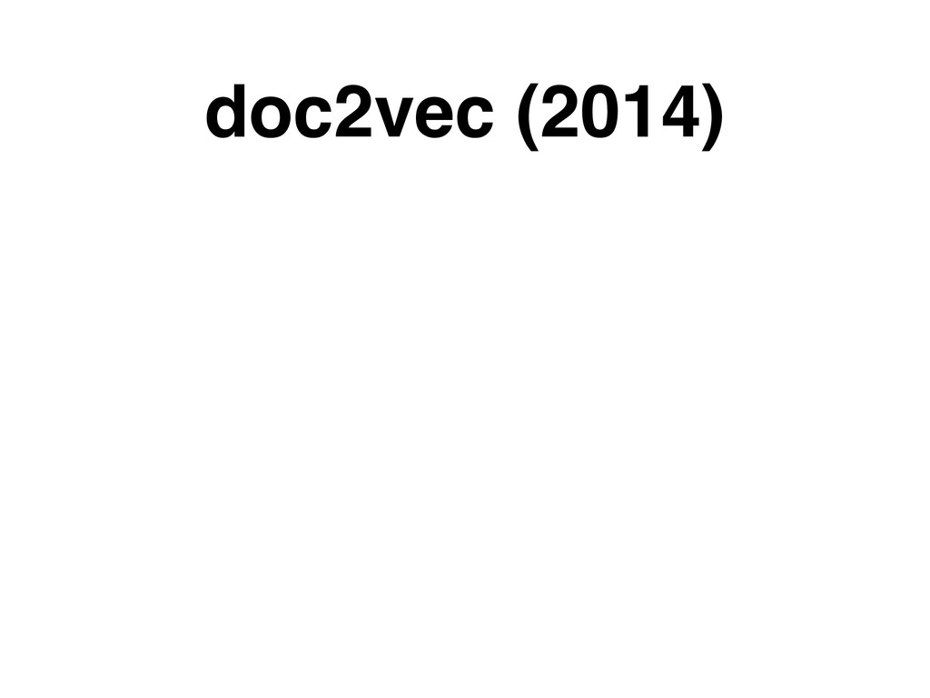 doc2vec (2014)