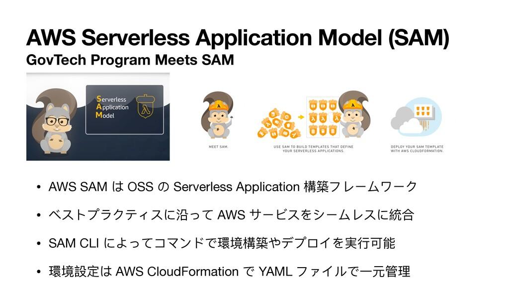 AWS Serverless Application Model (SAM) GovTech ...