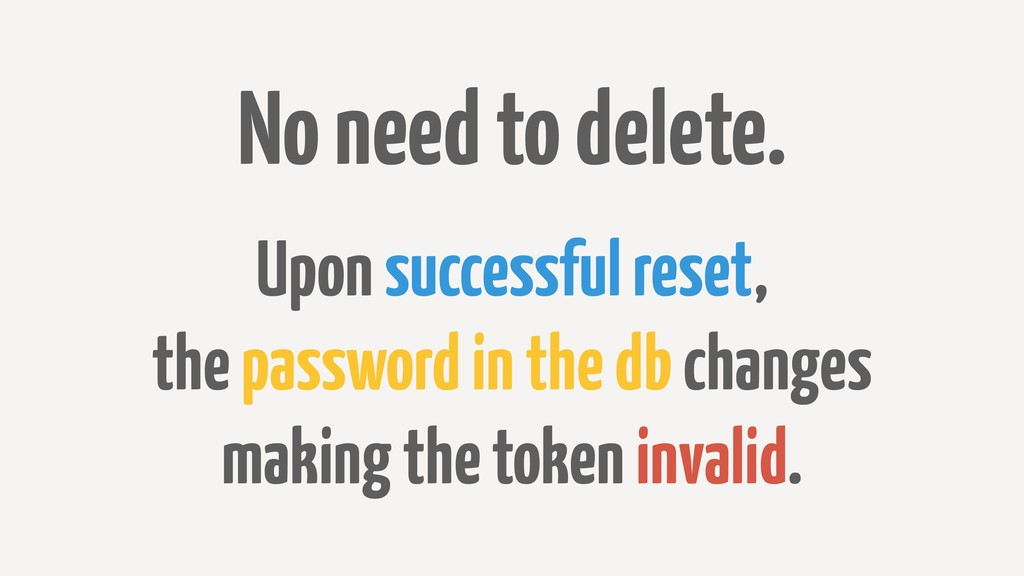 No need to delete. Upon successful reset, the p...